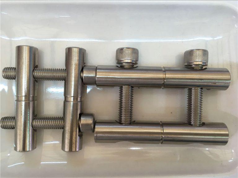 ansi 316ti / en 1.4571, 317l / en 1.4438 roestvrye staal onderdele-verbindingsstaafreeks