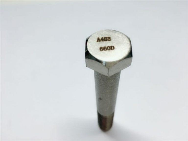 a286 hegstukke van hoë gehalte asm a453 660 en1.4980 hardeware masjien skroefbevestigings