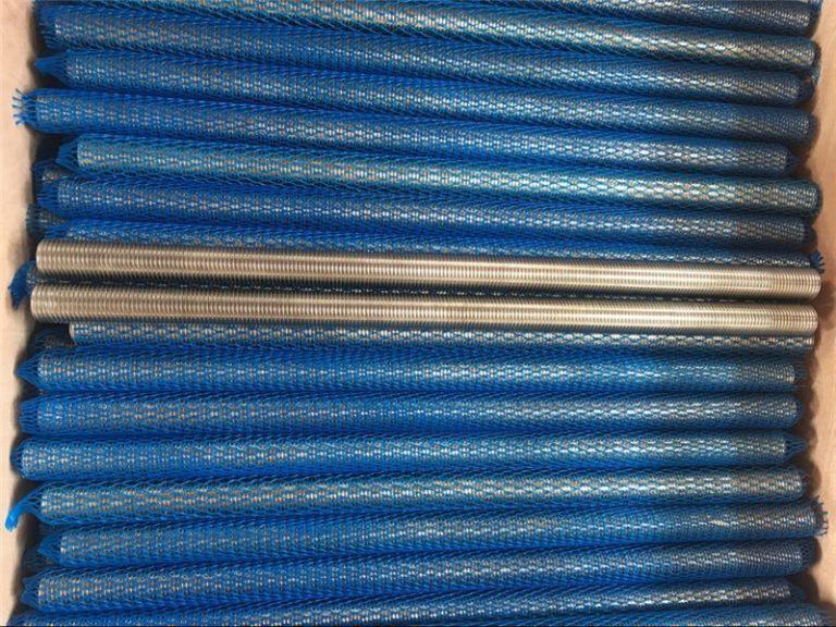nikkellegering inconel601 / 2.4851 trapesiumvormige draadstang nuwe goedere