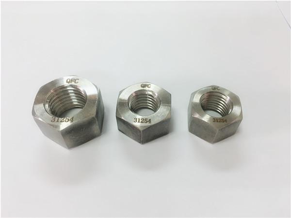 gh2132 / a286 vlekvrye staal bevestigingsmiddels swaar zeskantmoere m6-m64