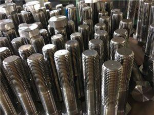 No.12-zeskantboute ISO4014 halfdraad A193 B8, B8M, B8T, B8C SS-bevestiging