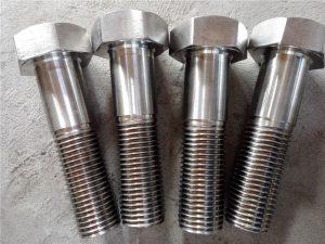 No.15-Nitronic 50 XM-19 Hex-bout DIN931 UNS S20910