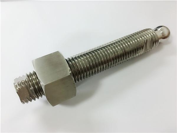 persoonlike CNC frees vlekvrye staal kogelkop bout en bevestiging