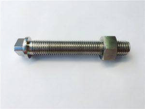 No.27-AISI SAE 347 vlekvrye staal hegstuk