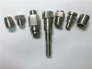 No.67-hoë kwaliteit Oem-draaibankmasjien, vlekvrye staal-bevestigingsmiddels, vervaardig van CNC-bewerking