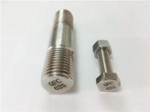 No.71-625 inconel-bevestigingsmiddels in nikkel