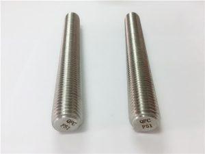 No.77 Duplex 2205 S32205 vlekvrye staalverbindings DIN975 DIN976 draadstawe F51