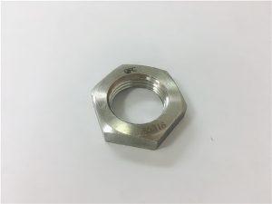 No.93- A2 A2-70 A2-80 A4 A4-70 A4-80 SS304 SS316 vlekvrye staal SS hex dun moer DIN936