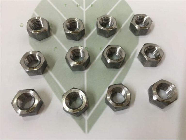 duplex 2205 a182 f51 uns s31803 en1.4462 hex bolt din933 bevestiging