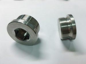 pasgemaakte vlekvrye staal ringbout met ss sleutelring
