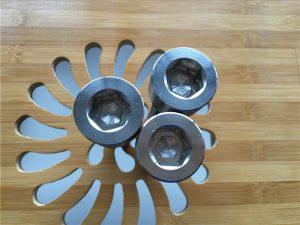 hoë gehalte ASEM seskantpaneel titanium gr2 skroef / bout / moer / wasser /